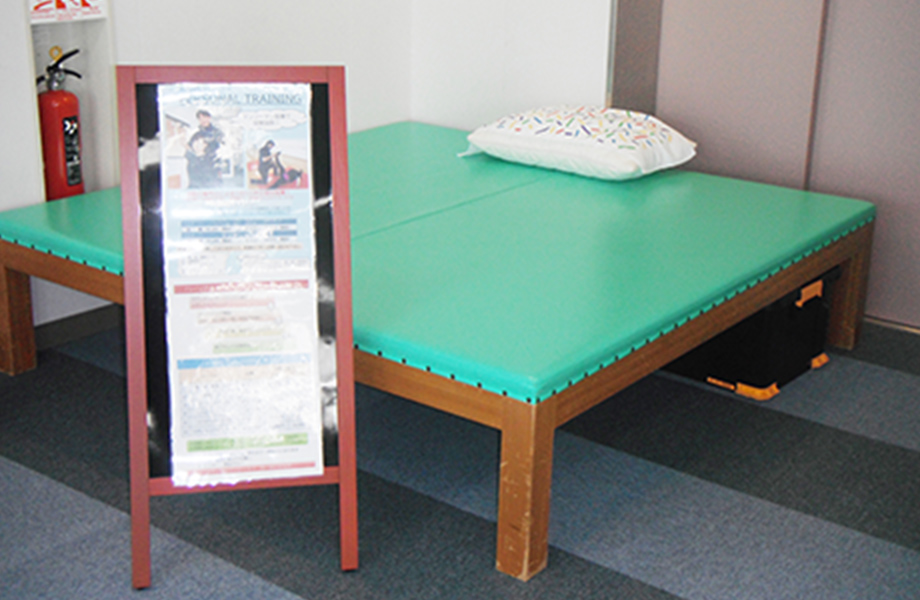 パーソナルトレーニング 専用スペースの写真