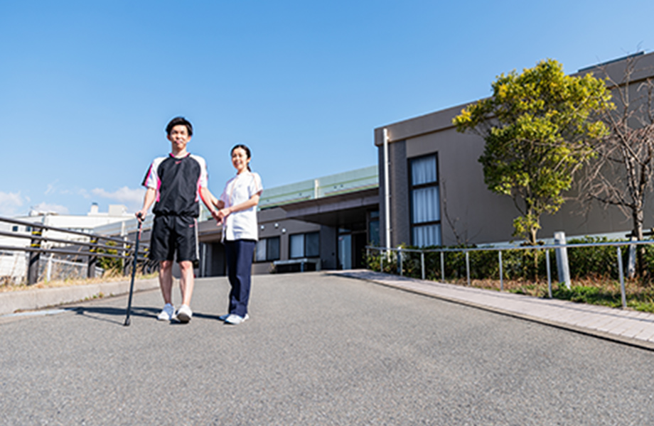 応用歩行訓練のイメージ写真