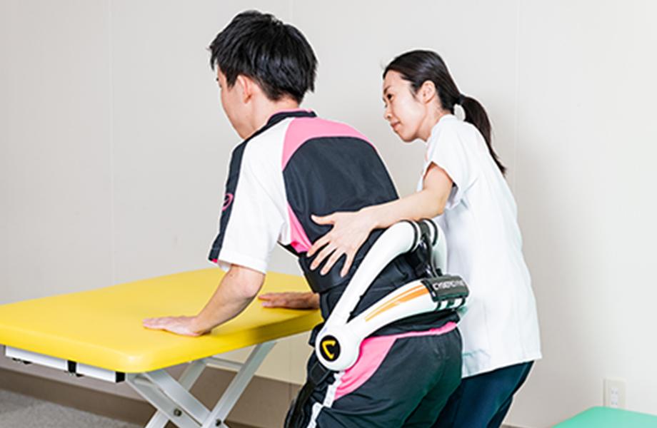 自立支援用ロボットのHAL®腰タイプ